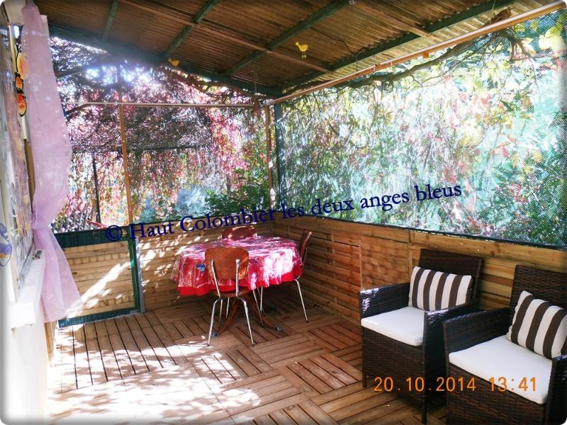 Terrace covered