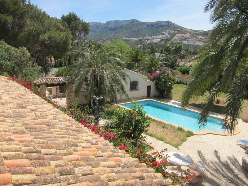 Finca Mandarin, vacation rental in Muntanya la Sella