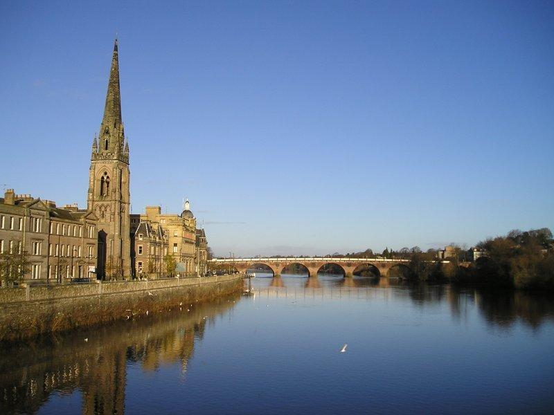 River Tay at Perth City Centre, Tay Street
