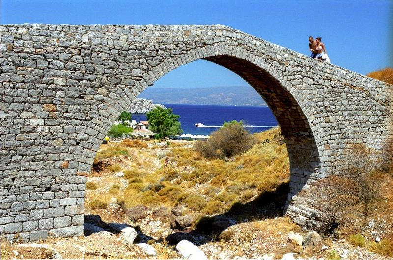 The 18th Century bridge at nearby Vlichos