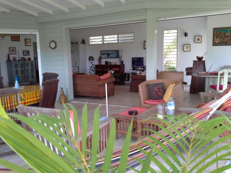 le salon  terrasse