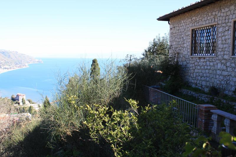 Vista desde la terraza principal