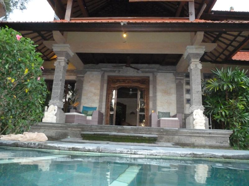 Main Entrance from Pool