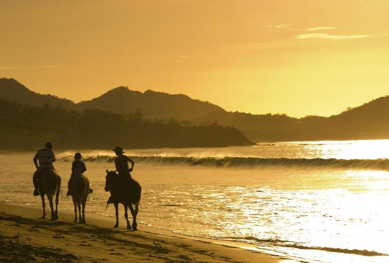Playa conchal cercana