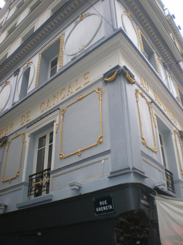 Around the corner - Rocher de Cancale - Balzac's favorite café