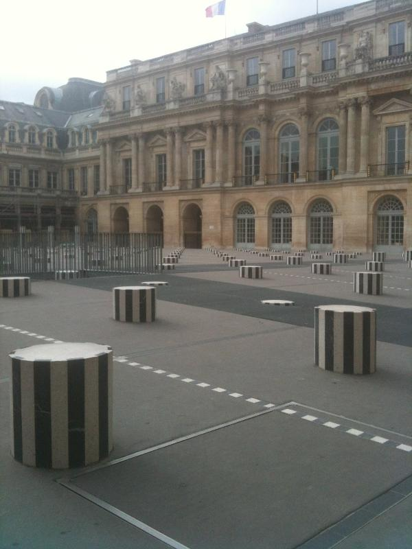 Palais Royal and the Buren columns
