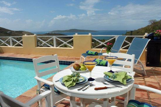 Sea View with Private Heated Pool & Fantastic Ambiance!, holiday rental in St. Croix