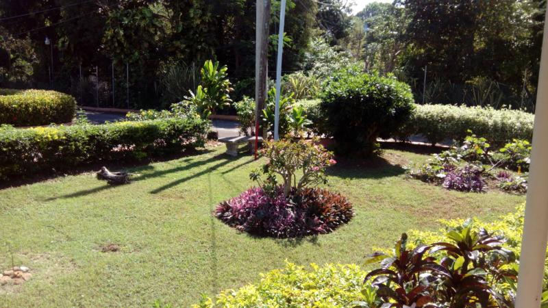 carib grounds garden view