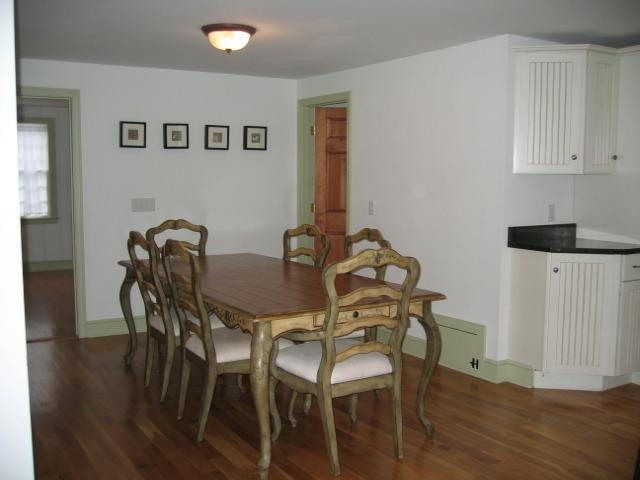 Dining table with seating for 10