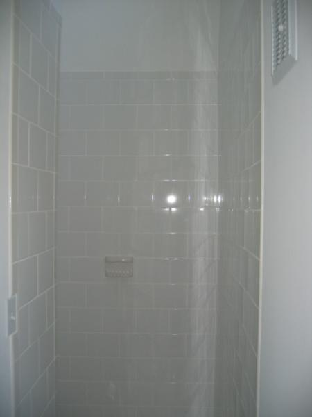 Second bath with shower