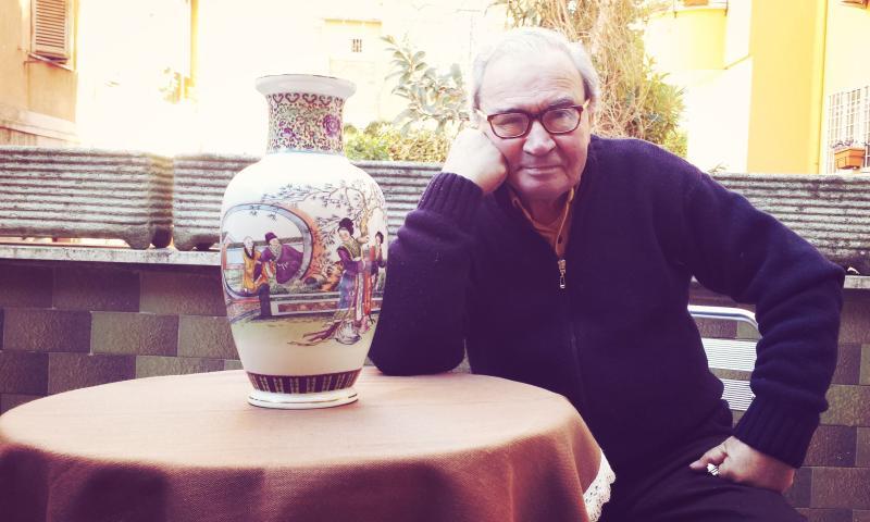 Enzo,ex organizzatore di molti film tra cui 'IL GIARDINO DEI FINZI-CONTINI'di DE SICA :Premio Oscar.