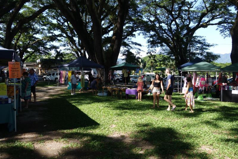 Mossman marchés 07:00 samedi Port Douglas commercialise de 09:00