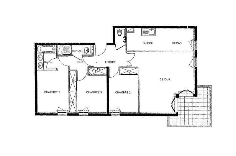 Overview of the apartment