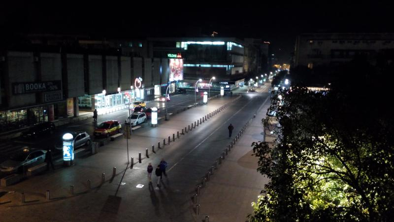 Outside view. Taken from the balcony. Location Location Location!!!