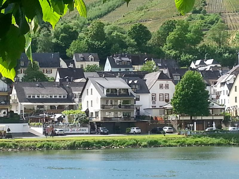 Our holliday house at Zell/Moselle.