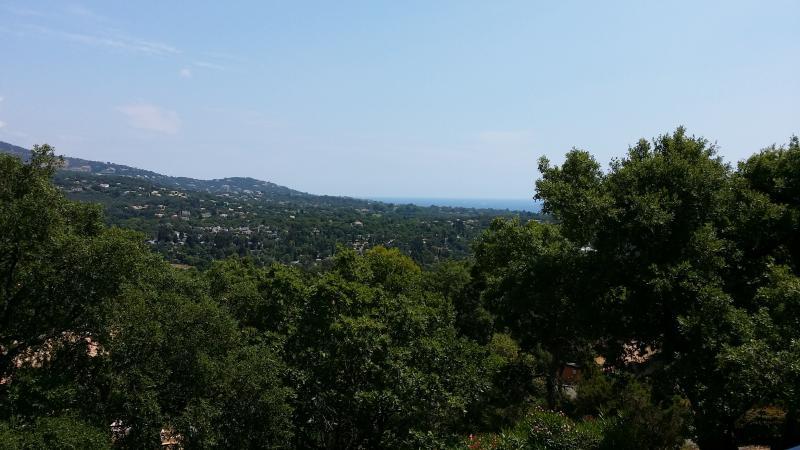 Vista da varanda (vista mar)
