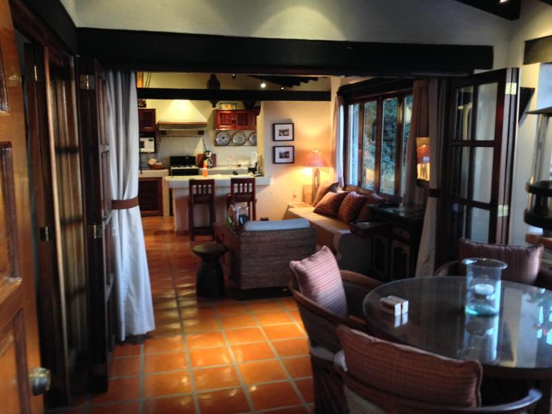 Our casita features great lighting in all rooms