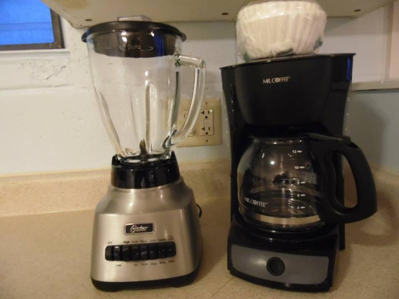 Blender and Coffee Maker