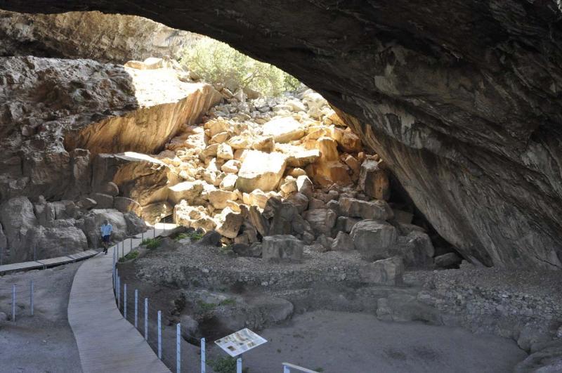 Cave in Kilada village