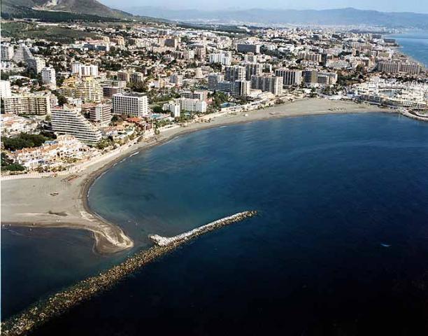 Aereal View Malapesquera beach/ Vista Aerea Playa Malapesquera