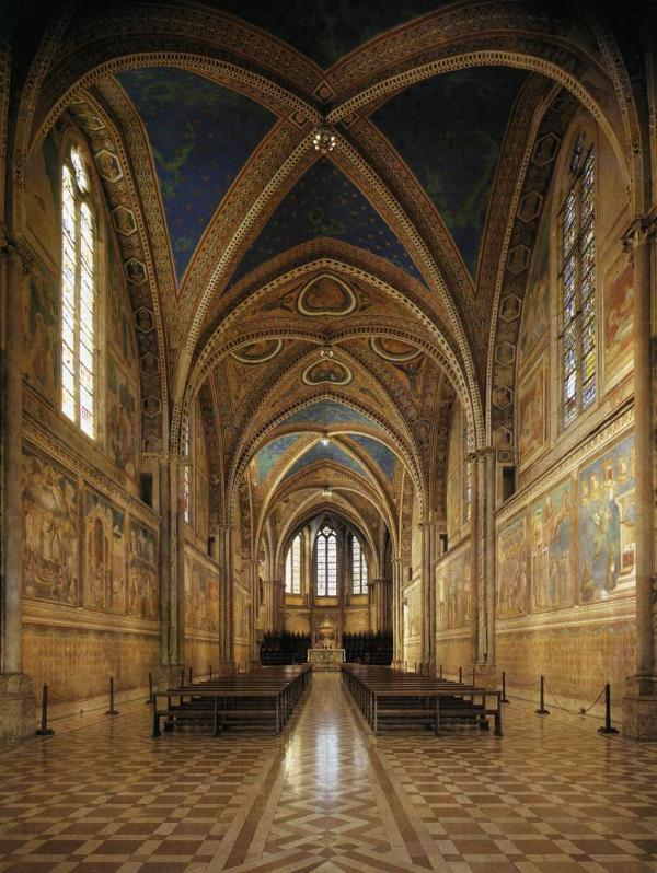 Assisi, Giotto's frescoes, 80 minutes