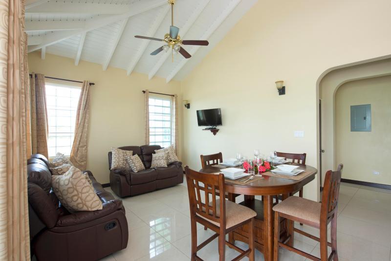 Living Area - Deluxe Villa