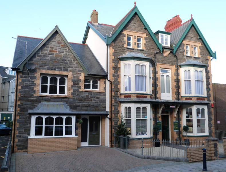 Gorgeous boutique townhouse in the centre of Aberystwyth