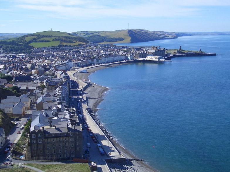 Slechts een steenworp afstand van Aberystwyth strand en alle faciliteiten