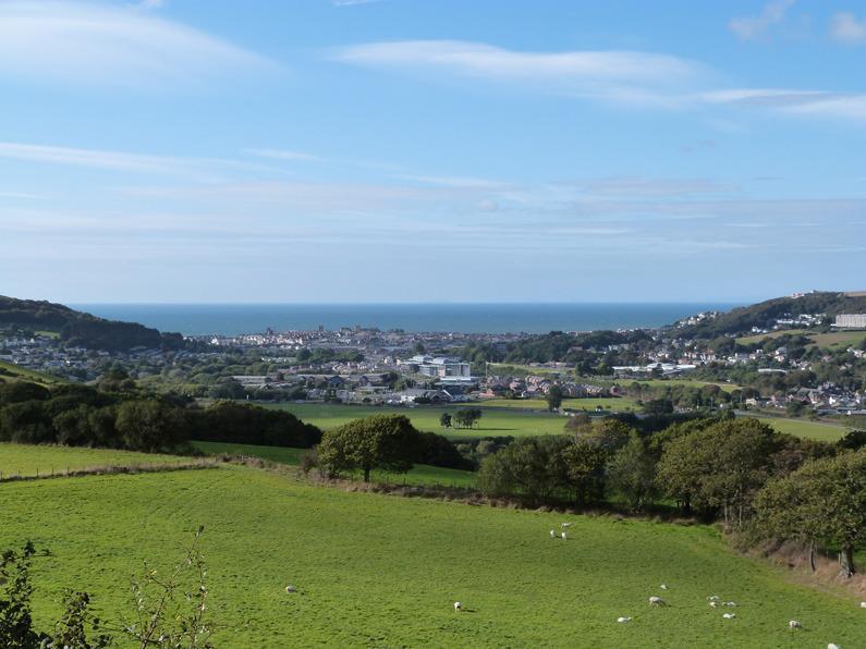 Aberystwyth - een bruisende kustplaats aan de Mid Wales kust