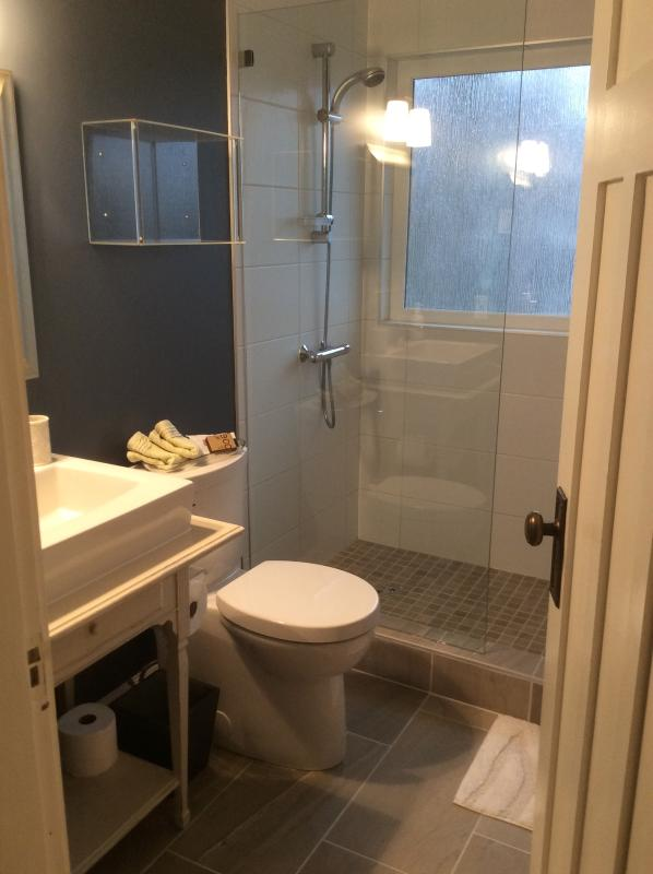 Ensuite bathroom updated Jan 2015 walk-in shower
