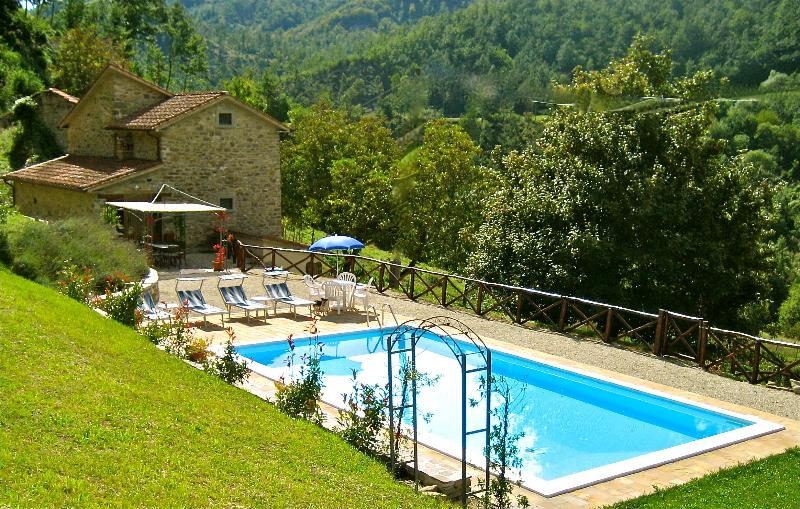 Our villa with private pool and terrace