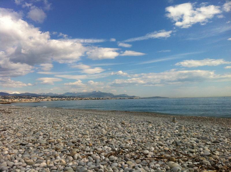 Beach near Nice Airport