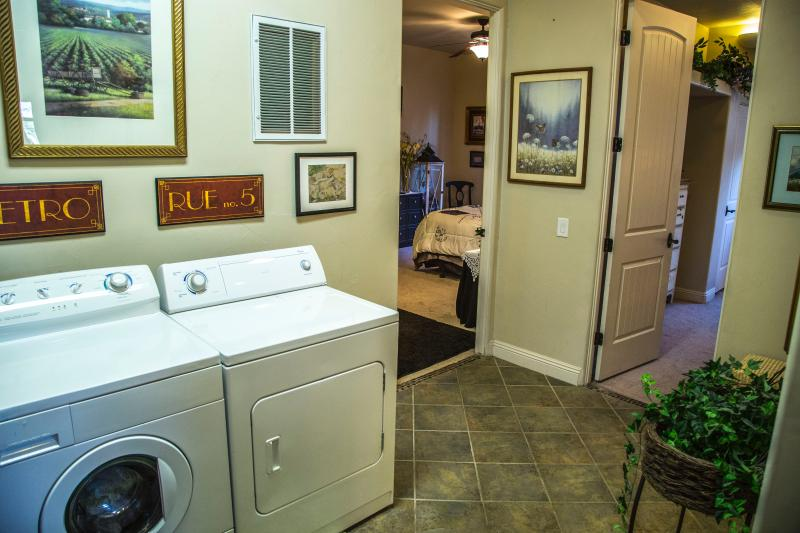 washer and dryer are readily available.