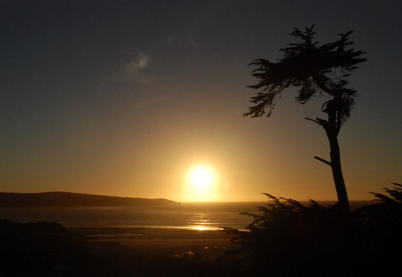 Beach Sunsets are Magical.  This is Overlooking Pt. Reyes National Seashore