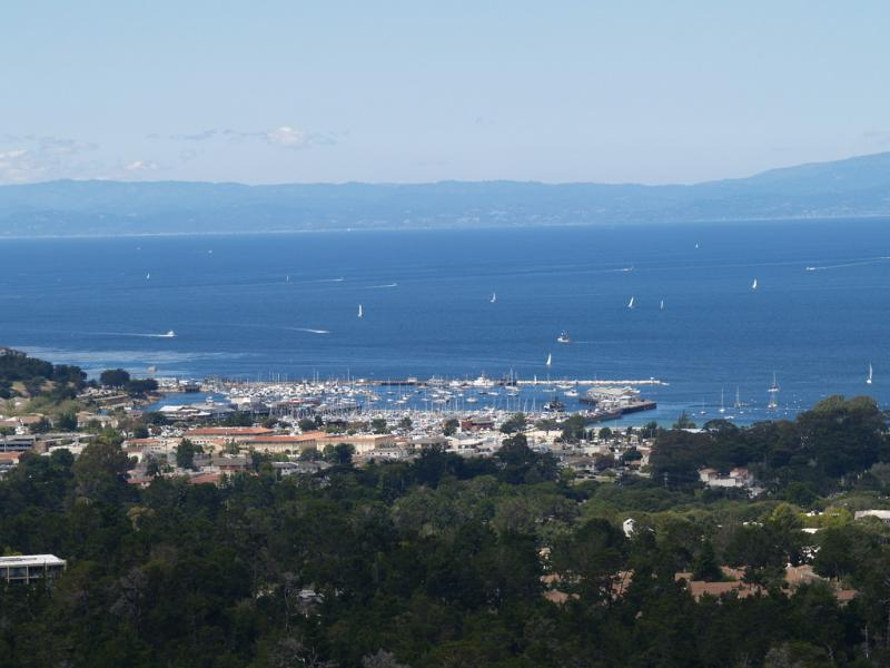 Monterey Bay Harbor - view from almost every rooms in the house.