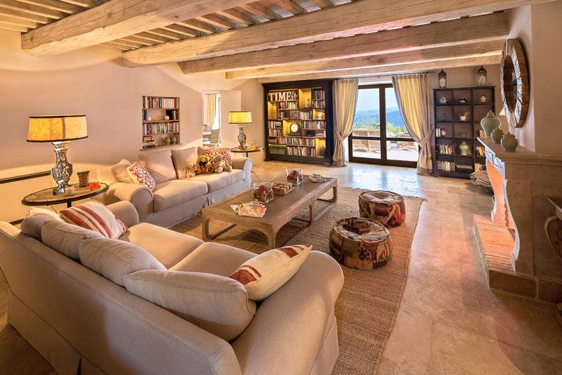 Sitting room with lovely view