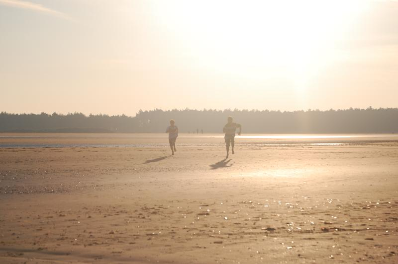 Holkham beach, just a 20 minute drive away
