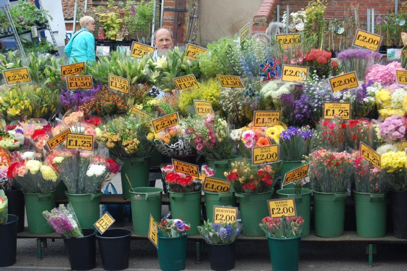 Fakenham Market and Auction every Thursday, 10 minutes drive away