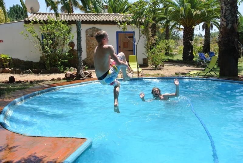 Spass im Pool