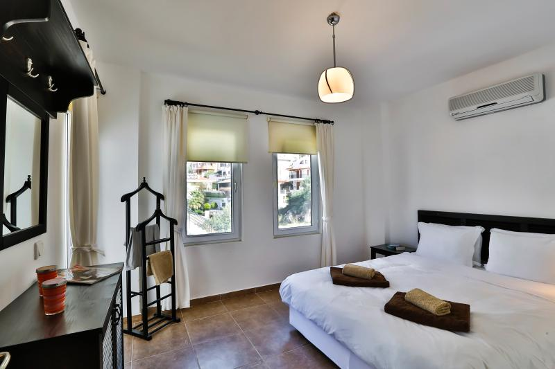 Double bedroom with private balcony.