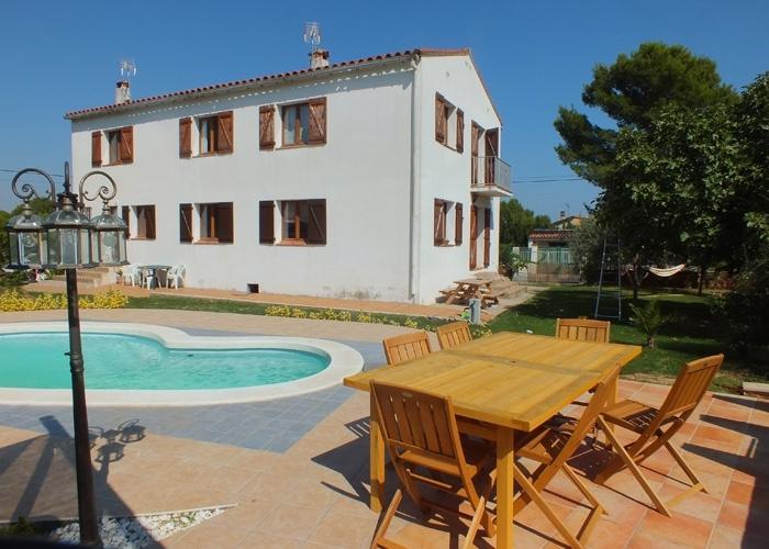 Casa Marimont Costa Brava pool and terrace