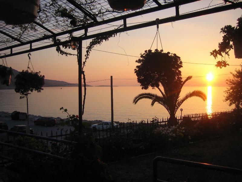 Sunset from Villa Rosanna