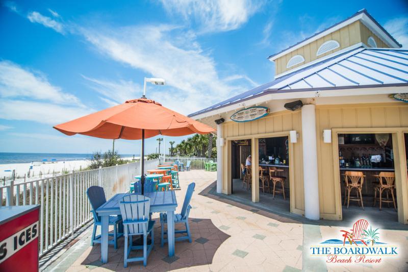 Beach side bar