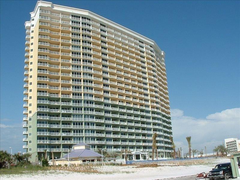 Boardwalk Beach Resort. View from the beach