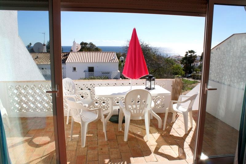 Sunny south-facing veranda with sea views - the perfect place to relax and unwind!