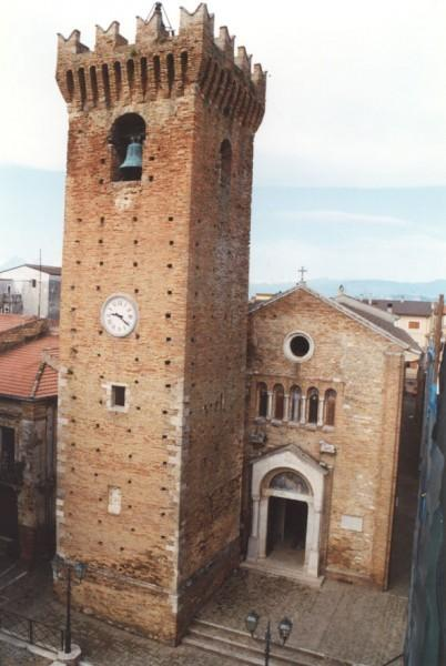 Acquaviva Tower and the Mother Church in Mosciano