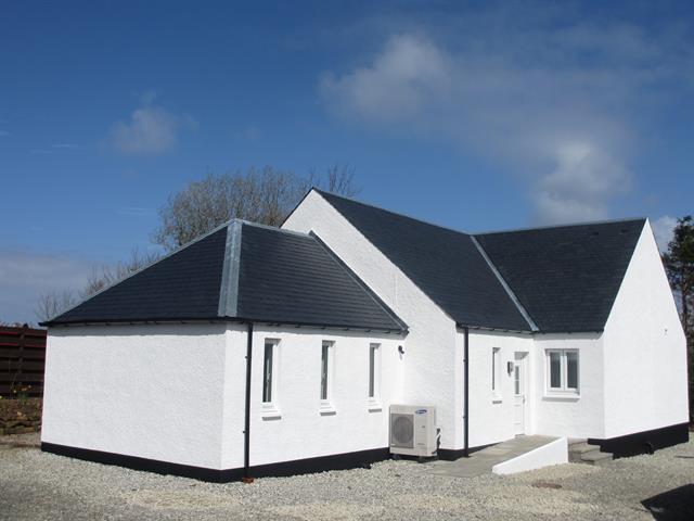 Vista traseira de Crofters Cottage
