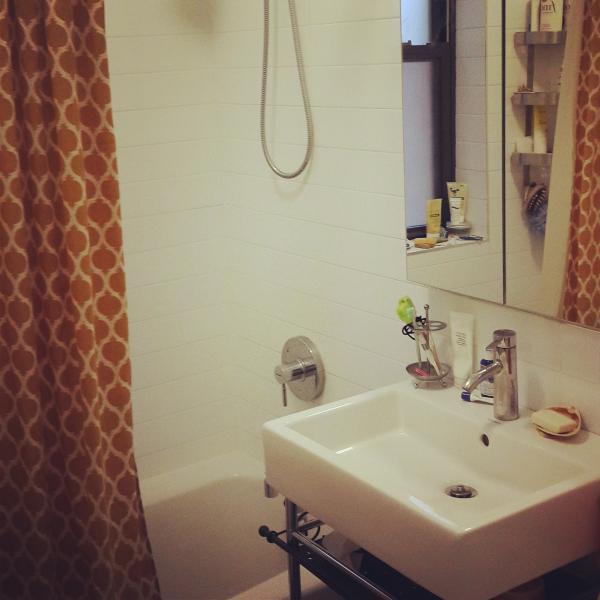 new , with full bath tab bathroom