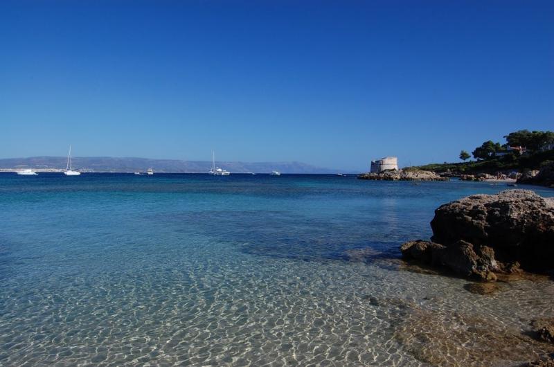the Lazzaretto Beach