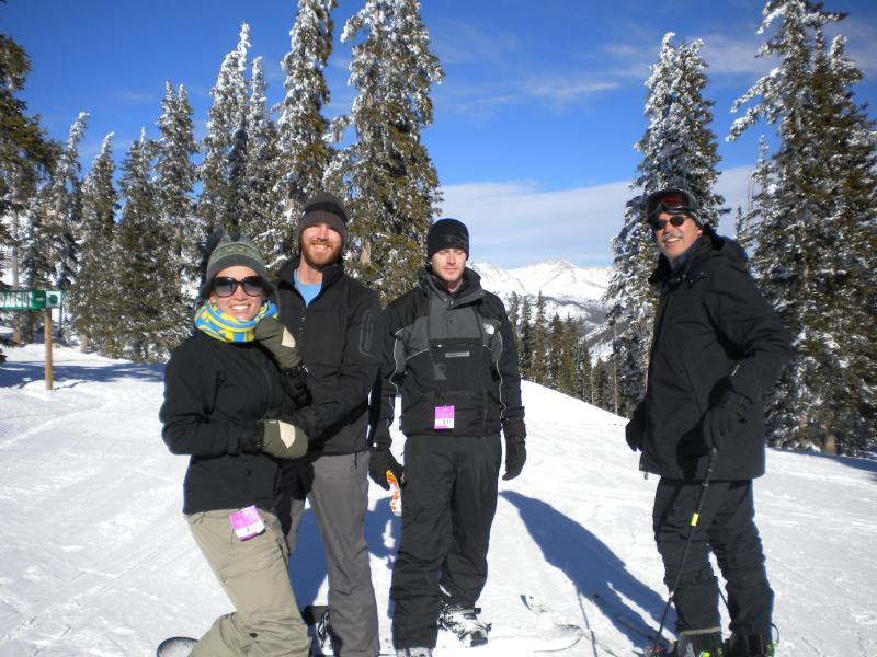 Local ski hill is low priced with great snow